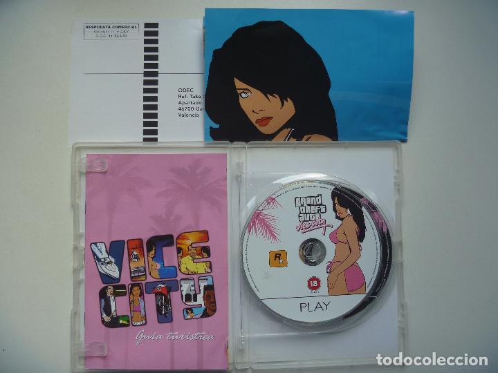 Videojuegos y Consolas: Grand Theft Auto GTA Vice City para PC ordenador disco CD DVD versión española - Foto 3 - 87567872