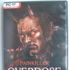 Videojuegos y Consolas: OVERDOSE PAINKILLER PC DVD REGALO JUEGO DRAKENSANG THE DARK EYE . Lote 87568852