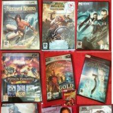 Videojuegos y Consolas: 12 JUEGOS DE PC. Lote 184767191