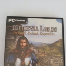Videojuegos y Consolas: MEDIEVAL LORDS JUEGO PC. Lote 87647103