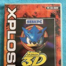 Videojuegos y Consolas: SONIC 3D FLICKIES ISLAND - SEGA PC - XPLOSIV - PC CD ROM. Lote 88832110