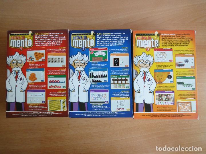 Videojuegos y Consolas: Colección Activa tu mente. 12 CDs. Completa. Algunos precintados - Foto 3 - 90127552