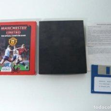 Videojuegos y Consolas: MANCHESTER UNITED / JUEGO PARA IBM PC Y COMPATIBLES / MS-DOS / RETRO / DISQUETE / DISKETTE. Lote 90211864