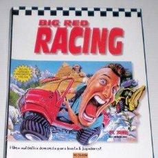 Videojuegos y Consolas: BIG RED RACING [BIG RED SOFTWARE] 1996 DOMARK / PROEIN SOFT LINE [JUEGOS CD-ROM] [PC CDROM]. Lote 91849955