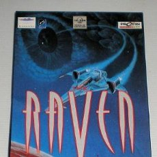 Videojuegos y Consolas: THE RAVEN PROJECT [CRYO INTERACTIVE] 1995 MINDSCAPE/PROEIN SOFT LINE [JUEGOS CD-ROM] [PC CDROM]. Lote 91952165