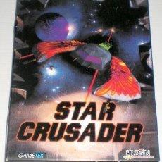 Videojuegos y Consolas: STAR CRUSADER [TAKE-TWO INT] 1995 PROEIN SOFT LINE [JUEGOS CD-ROM] [PC CDROM]. Lote 91955125