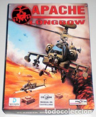 APACHE LONGBOW [DIGITAL INTEGRATION] [1995] PROEIN SOFT LINE [JUEGOS CD-ROM] [PC CDROM] AH-64 (Juguetes - Videojuegos y Consolas - PC)