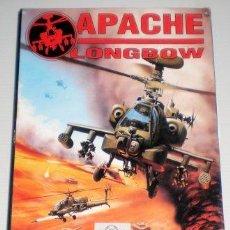 Videojuegos y Consolas: APACHE LONGBOW [DIGITAL INTEGRATION] [1995] PROEIN SOFT LINE [JUEGOS CD-ROM] [PC CDROM] AH-64 . Lote 92059205