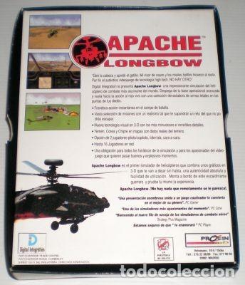 Videojuegos y Consolas: Apache Longbow [Digital Integration] [1995] Proein Soft Line [Juegos CD-ROM] [PC CDROM] AH-64 - Foto 2 - 92059205