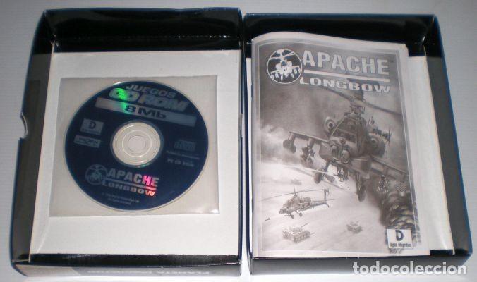 Videojuegos y Consolas: Apache Longbow [Digital Integration] [1995] Proein Soft Line [Juegos CD-ROM] [PC CDROM] AH-64 - Foto 3 - 92059205