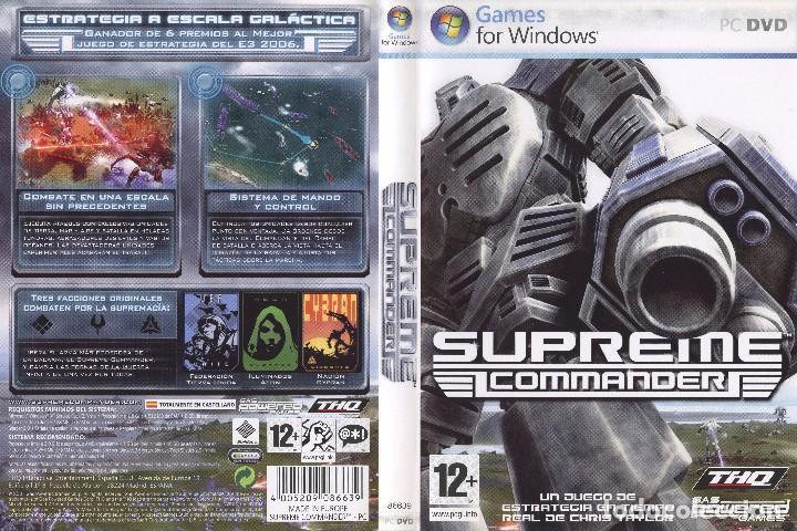 JUEGO PC SUPREME COMMANDER (Juguetes - Videojuegos y Consolas - PC)