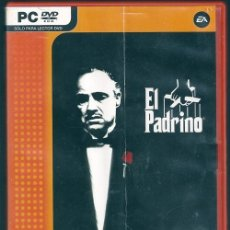 Videojuegos y Consolas: EL PADRINO: EL VIDEOJUEGO - EA VALUE GAMES, 2006 | PC DVD-ROM. Lote 92575730