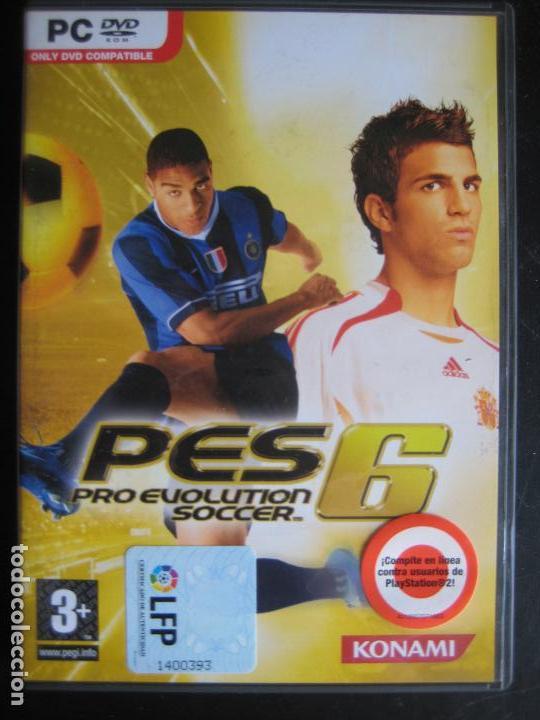 Videojuego Pes Pro Evolution Soccer 6 Completo Buy Video Games Pc At Todocoleccion 124460782