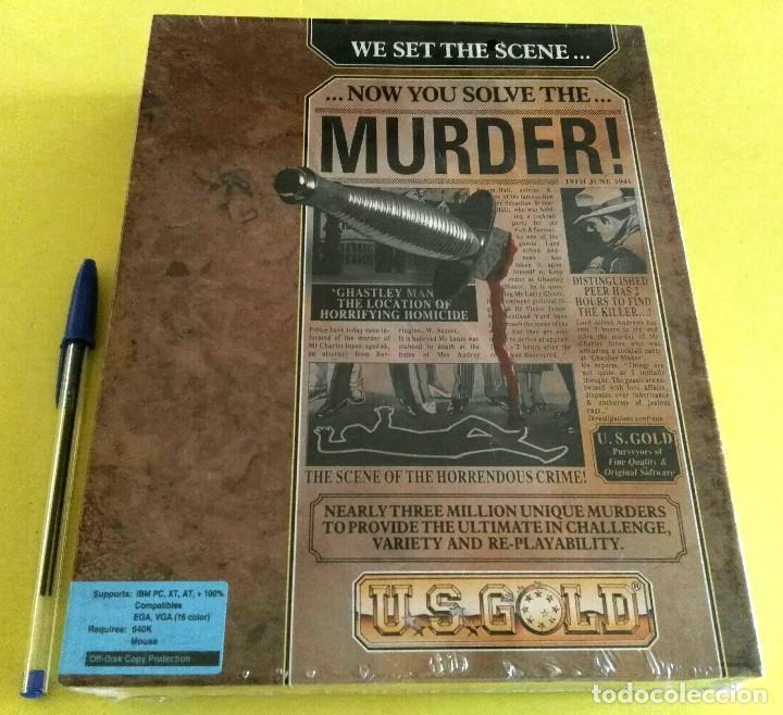 VIDEOJUEGO PRECINTADO MURDER! (PC, 1990). CAJA CARTÓN. (Juguetes - Videojuegos y Consolas - PC)
