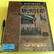 Videojuegos y Consolas: VIDEOJUEGO PRECINTADO MURDER! (PC, 1990). CAJA CARTÓN.. Lote 93686165