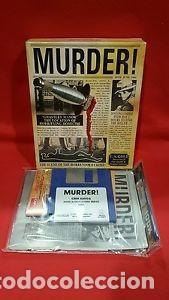 Videojuegos y Consolas: VIDEOJUEGO PRECINTADO MURDER! (PC, 1990). CAJA CARTÓN. - Foto 7 - 93686165