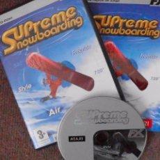 Videojuegos y Consolas - Juego PC: Supreme Snowboarding (DCD) - 94278445