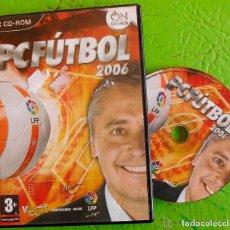 juego pc  pc futbol 2006 (dcd) - Comprar Videojuegos PC en todocoleccion -  94278705 4a121929b76f4
