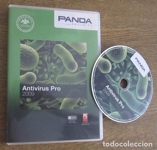PANDA ANTIVIRUS PRO 2009 PROGRAMA PC CD VINTAGE SOFTWARE PANDA SECURITY 2008 (Juguetes - Videojuegos y Consolas - PC)