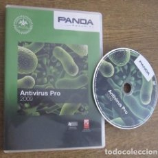 Videojuegos y Consolas: PANDA ANTIVIRUS PRO 2009 PROGRAMA PC CD VINTAGE SOFTWARE PANDA SECURITY 2008. Lote 94537218