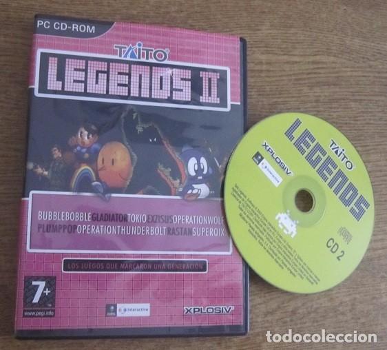 TAITO LEGENDS II JUEGO PC CD VINTAGE SOFTWARE XPLOSIV EMPIRE INTERACTIVE 2005 SIN LIBRO DE INSTRUCC. (Juguetes - Videojuegos y Consolas - PC)