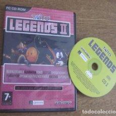 Videojuegos y Consolas: TAITO LEGENDS II JUEGO PC CD VINTAGE SOFTWARE XPLOSIV EMPIRE INTERACTIVE 2005 SIN LIBRO DE INSTRUCC.. Lote 94537246