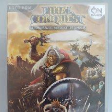 Videojuegos y Consolas: JUEGO PC CD-ROM FINAL CONQUEST NUEVO PRECINTADO. Lote 94947252