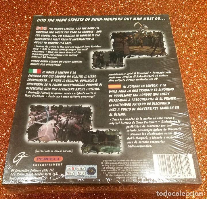 Videojuegos y Consolas: VIDEOJUEGO PRECINTADO DISCWORLD NOIR (PC CDROM) PRIMERA EDICIÓN. TAGS: AMIGA, ATARI, MAC... - Foto 2 - 94950303
