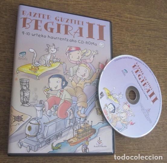 BAZTER GUZTIEI BEGIRA II - TXANELA JUEGO PC CD VINTAGE SOFTWARE EN EUSKERA GIPUZKOAKO IKASTOLEN ELK. (Juguetes - Videojuegos y Consolas - PC)