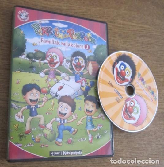 PIRRITX ETA PORROTX FAMILIAK MILAKOLORE 1 JUEGO PC CD VINTAGE SOFTWARE EN EUSKERA ELKAR KATXIPORRETA (Juguetes - Videojuegos y Consolas - PC)