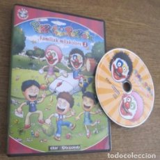 Videojuegos y Consolas: PIRRITX ETA PORROTX FAMILIAK MILAKOLORE 1 JUEGO PC CD VINTAGE SOFTWARE EN EUSKERA ELKAR KATXIPORRETA. Lote 95038071