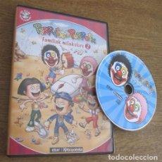 Videojuegos y Consolas: PIRRITX ETA PORROTX FAMILIAK MILAKOLORE 2 JUEGO PC CD VINTAGE SOFTWARE EN EUSKERA ELKAR KATXIPORRETA. Lote 95043463