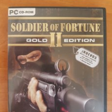 Videojuegos y Consolas: PC CD-ROM SOLDIER OF FORTUNE II GOLD EDITION. Lote 95058888