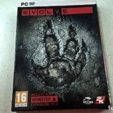Videojuegos y Consolas: EVOLVE-JUEGO PC-4 DISCOS-N. Lote 95116023