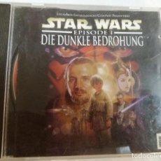 Videojuegos y Consolas: STAR WARS DIE DUNKLE BEDROHUNG PARA WINDOWS 95/98. Lote 95327079