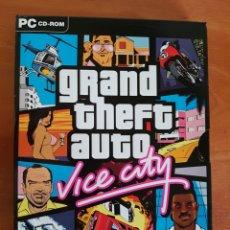 Videojuegos y Consolas - JUEGO PC CD-ROM GRAND THEFT AUTO VICE CITY CASTELLANO - 95360086
