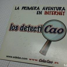 Videojuegos y Consolas: LA PRIMERA AVENTURA EN INTERNET.LOS DETECTICAO.CD. Lote 95471058