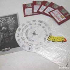 Videojuegos y Consolas: JUEGO PC MONKEY ISLAND 2, LECHUCK'S REVENGE, 3 1/2, 3'5, ERBE LUCASFILM 1992, ESPAÑOL. Lote 95548787