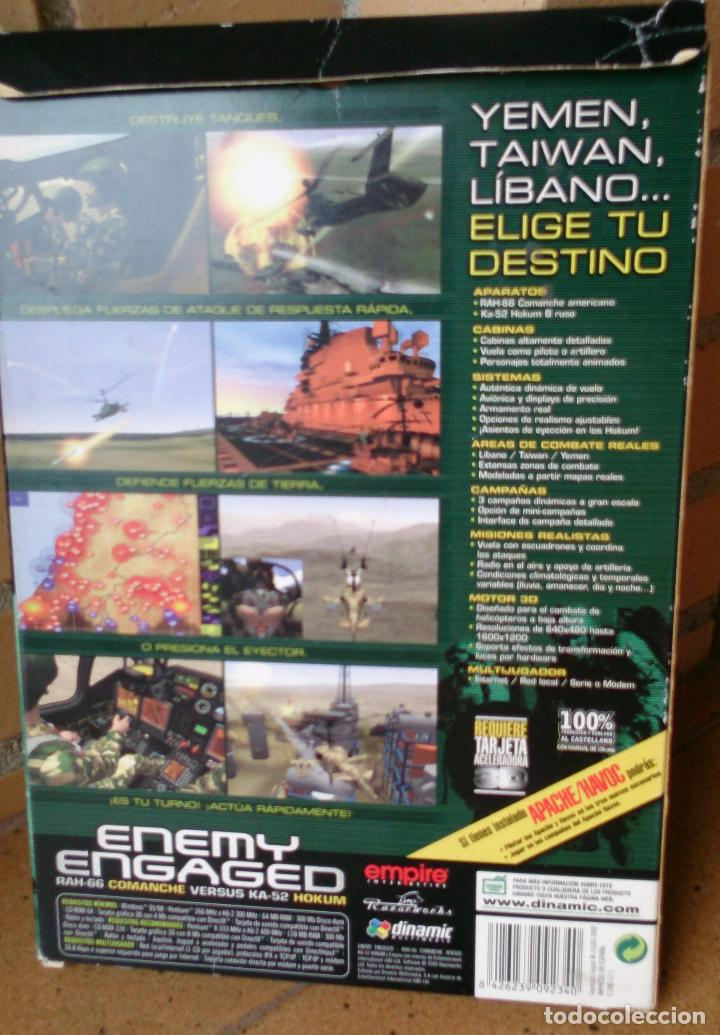 Videojuegos y Consolas: Juego PC Enemy Engaged Dinamic - Foto 2 - 95593623