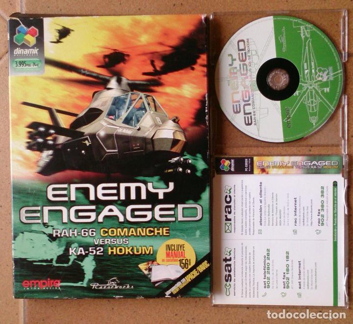 Videojuegos y Consolas: Juego PC Enemy Engaged Dinamic - Foto 3 - 95593623