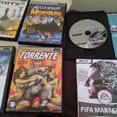 Videojuegos y Consolas: LOTE 8 JUEGOS DE PC. Lote 95727343