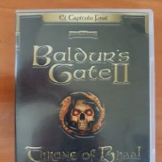 Videojuegos y Consolas: JUEGO PC CD-ROM BALDUR'S GATE II THRONE OF BHAAL CASTELLANO. Lote 95897760