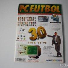 Videojuegos y Consolas: PC FUTBOL 3.0 DE DINAMIC: REVISTA Y 2 DISCOS.LEER DESCRIPCION.. Lote 96022823