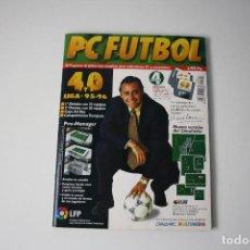 Videojuegos y Consolas: PC FUTBOL 4.0 DE DINAMIC: REVISTA Y 4 DISCOS.LEER DESCRIPCION.. Lote 96022979
