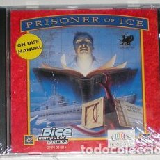 Videojuegos y Consolas: CALL OF CTHULHU: PRISIONER OF ICE [INFOGRAMES] 1995 [DICE] [PC CDROM] NUEVO LOVECRAFT HORROR. Lote 96107675