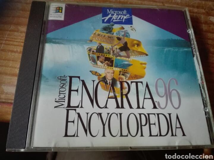 MICROSOFT ENCARTA 96 (Juguetes - Videojuegos y Consolas - PC)