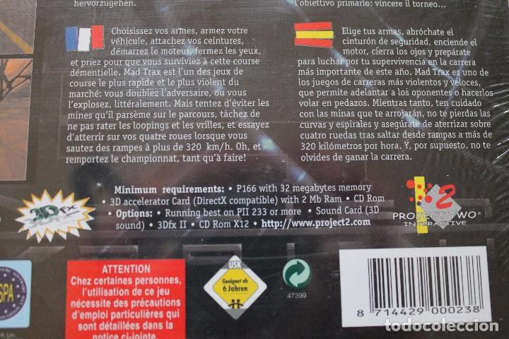 Videojuegos y Consolas: MAD TRAX PC BOX CAJA CARTON PRECINTADO - Foto 4 - 96758435
