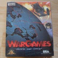 Videojuegos y Consolas: WARGAMES PC BOX CAJA CARTON PRECINTADO. Lote 96758683