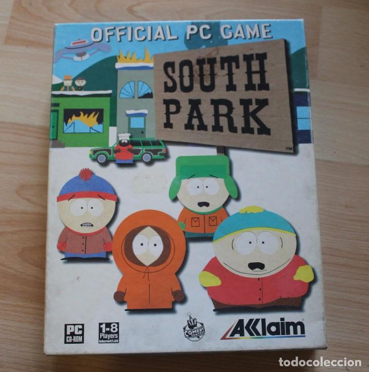 SOUTH PARK PC BOX CAJA CARTON (Juguetes - Videojuegos y Consolas - PC)