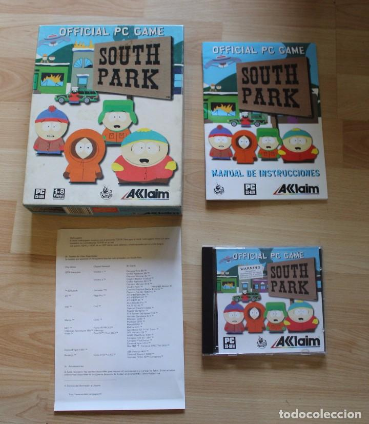 Videojuegos y Consolas: SOUTH PARK PC BOX CAJA CARTON - Foto 5 - 96759519